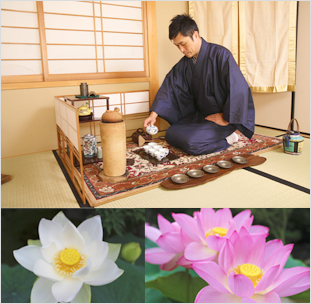 前茶道と坐禅体験