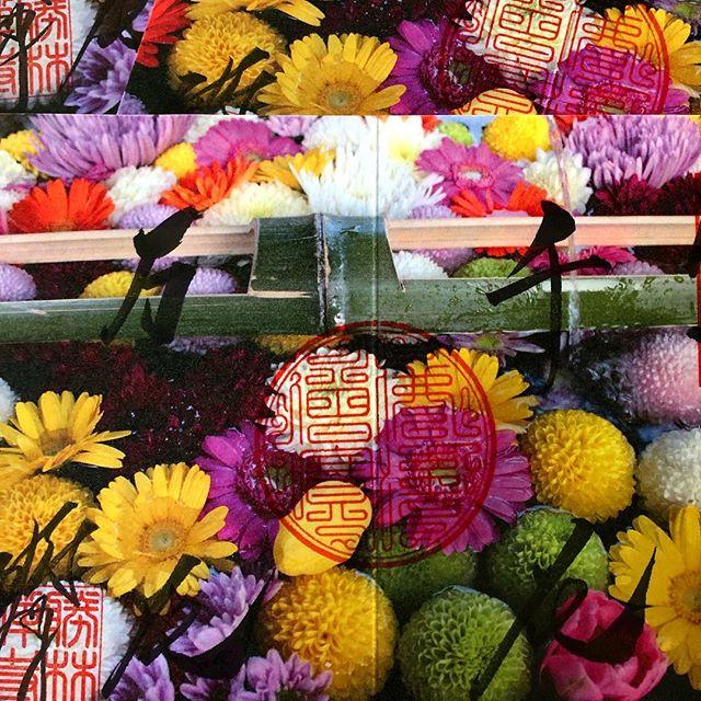 花手水の御朱印『千花万花』