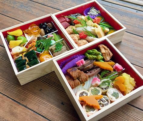 京都の禅寺精進おせち料理
